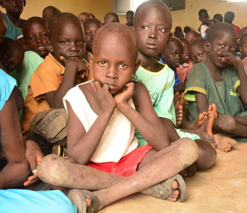 Schulkinder im Südsudan