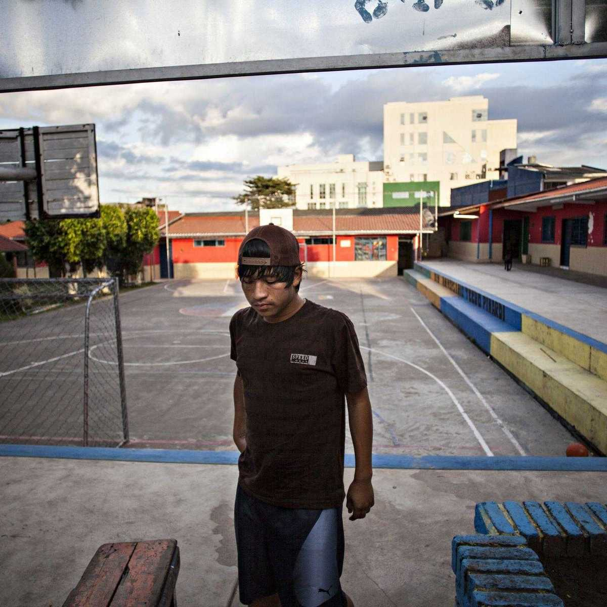 Straßenkind in Bolivien im Techo Pinardi
