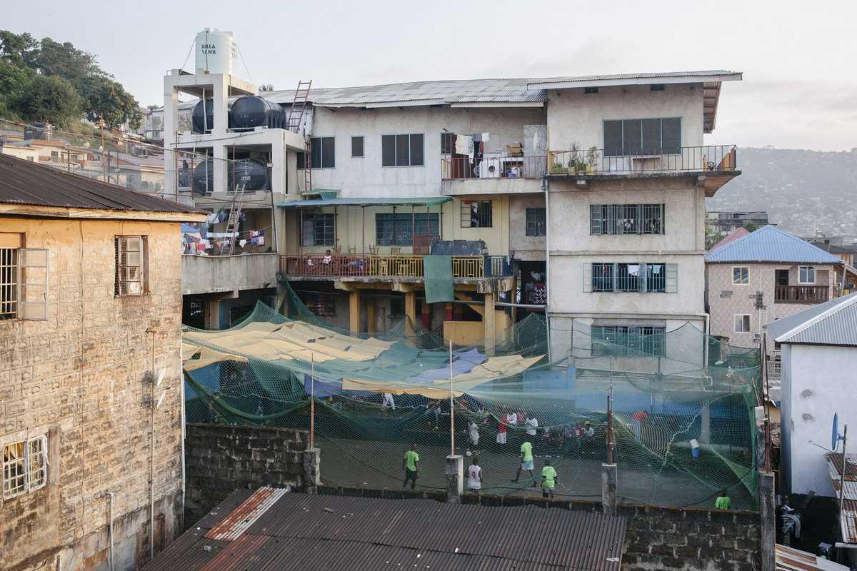 Die Don Bosco Einrichtung in Freetown
