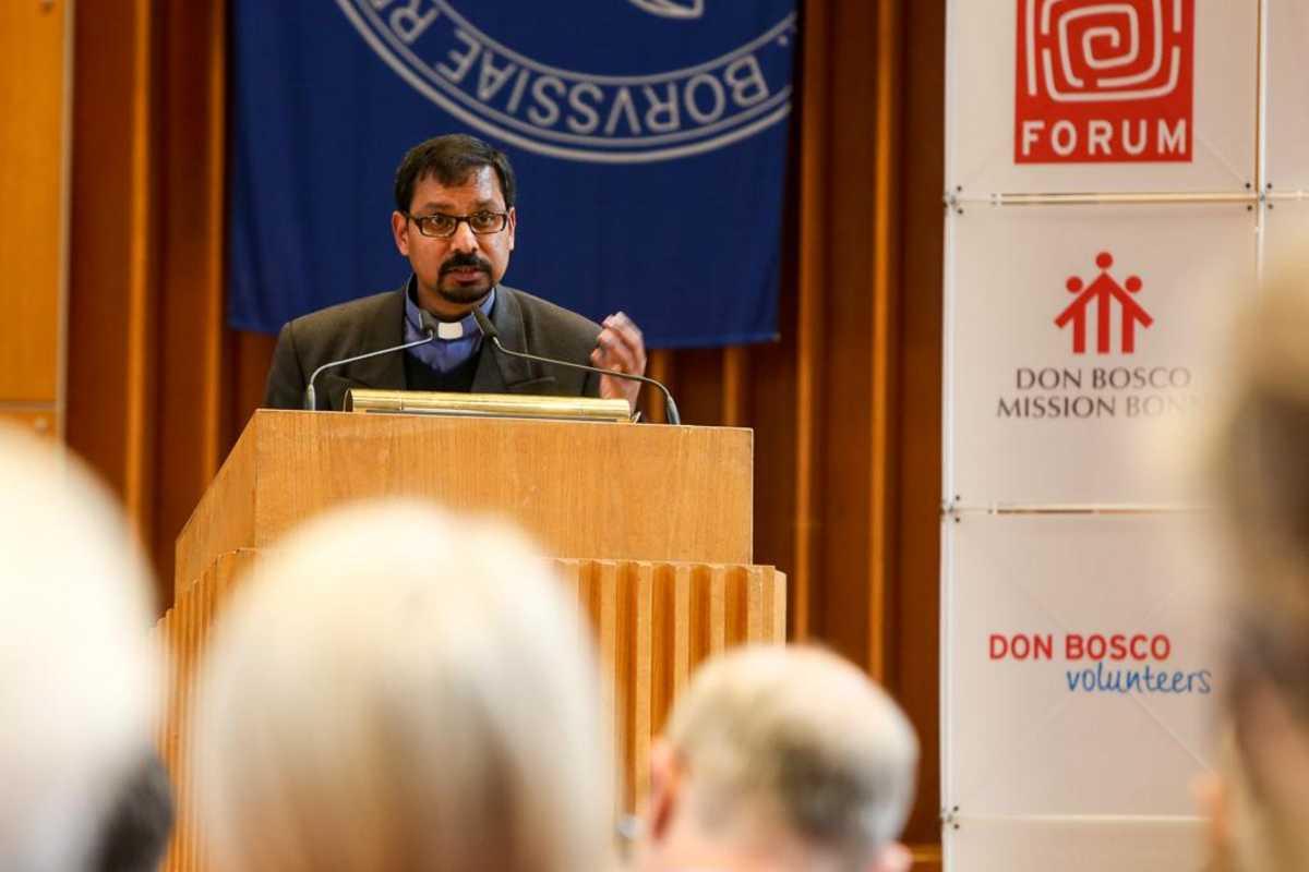 Pater Vincent Raj SDB spricht über die die Folgen des Arabischen Frühlings