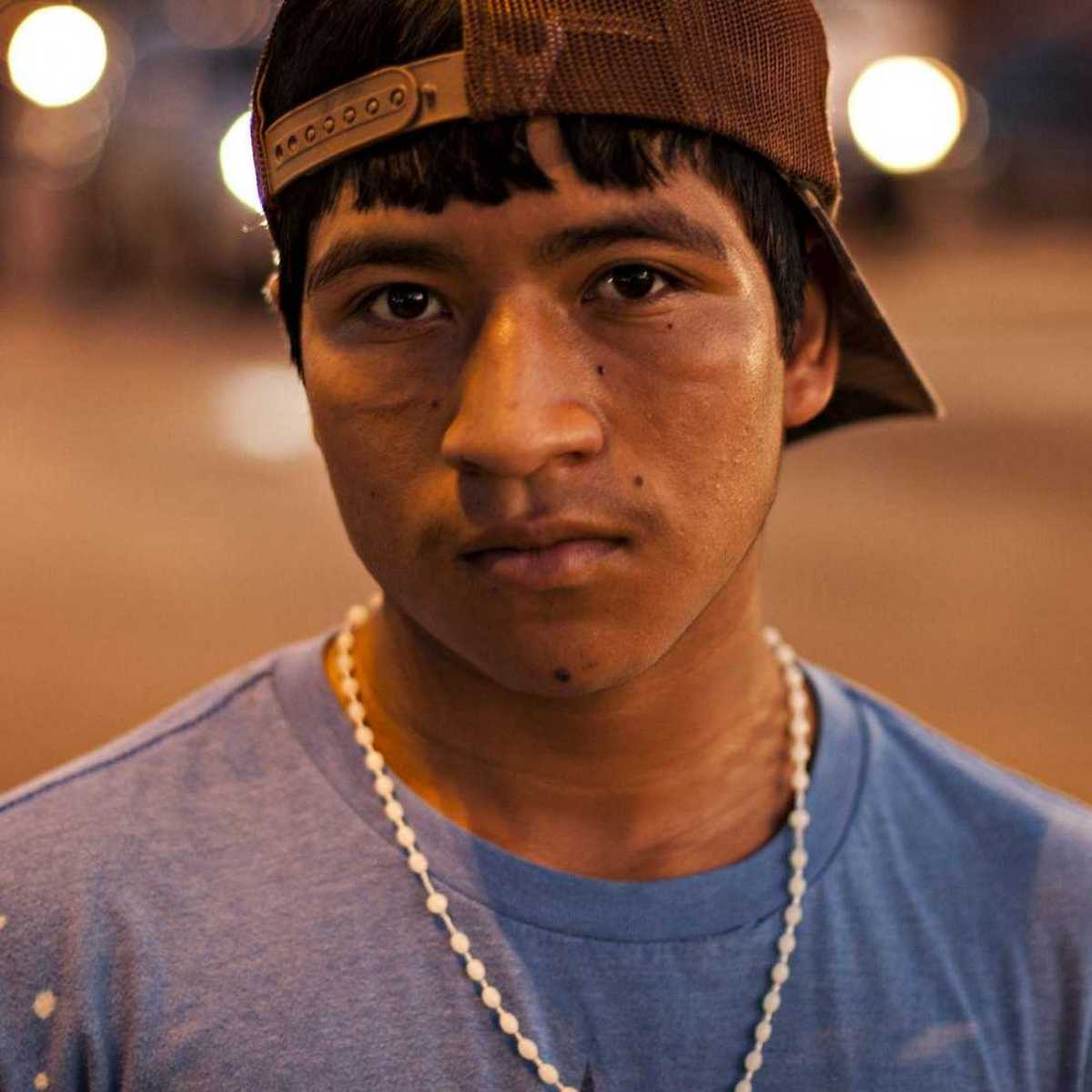 Straßenkind in Bolivien