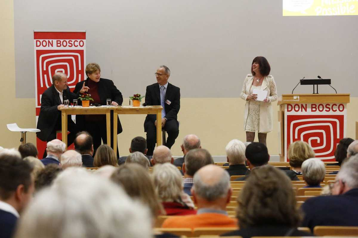 Diskussionsrunde auf dem Forum