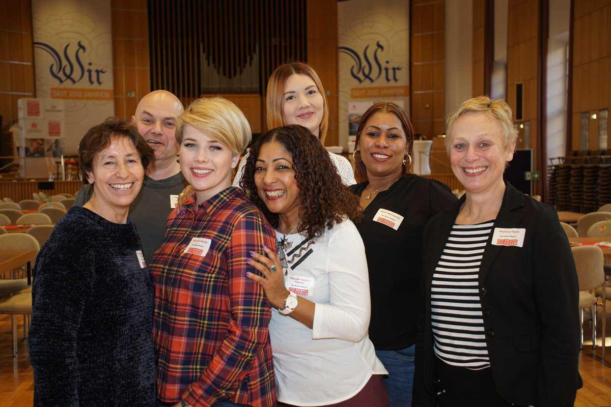 Gruppenfoto vom Hauswirtschaftsteam von Don Bosco Mission Bonn