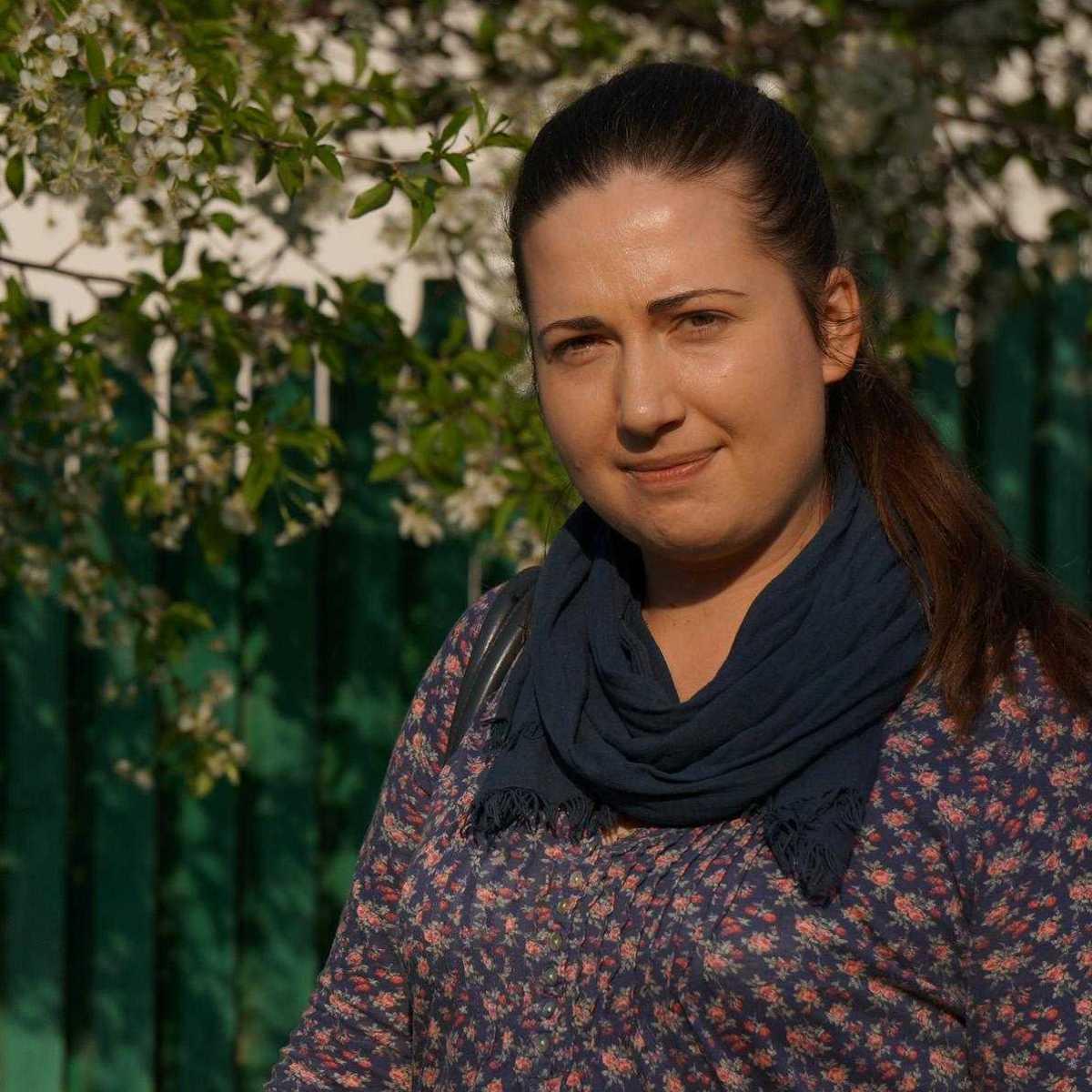 Tania Palaiciuc, die Sozialarbeiterin ist in Moldawien geblieben